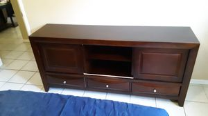 TV stand all wood for Sale in Spring Valley, CA
