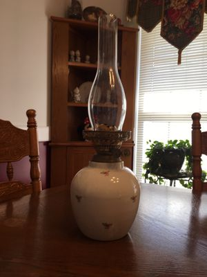 Antique Double burner Oil Lamp from England for Sale in Boiling Springs, SC