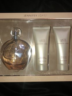 JLO Still Perfume (with body lotion and shower gel) for Sale in Spring,  TX
