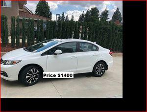 Price$1400 Honda Civic EXL for Sale in Wichita, KS