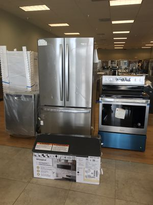🤯⚡️☄️🔥 New Whirlpool Appliances Package only $1,899.00 SAVE $779.00 today for Sale in Boynton Beach, FL