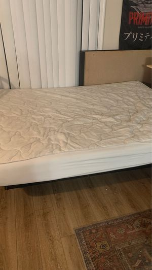 New queen mattress with protector never used for Sale in Richmond, VA