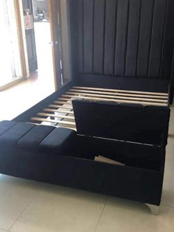 Queen And King Bed Frame On Sale for Sale in Norcross,  GA