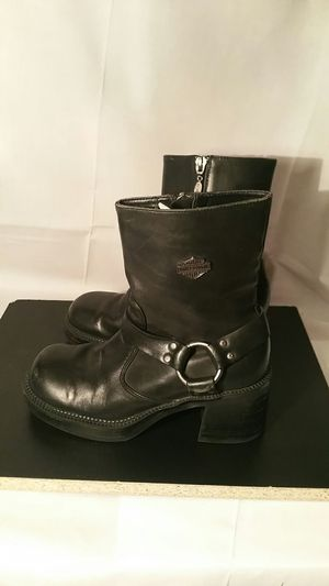 Harley Davidson motorcycle boots size 6 for Sale in Marietta, GA