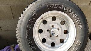 "15"" aluminum jeep wheel for Sale in Las Vegas, NV"