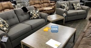 👉💰👈SPECIAL] Tibbee Slate Living Room Set. Sofa loveseat for Sale in Houston, TX