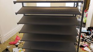 14 shelve shoe rack for Sale in Columbus, OH