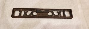 Antique Vintage Cast Iron 3 Bubble Level Leveling Carpenter Tool for Sale in Goodyear, AZ