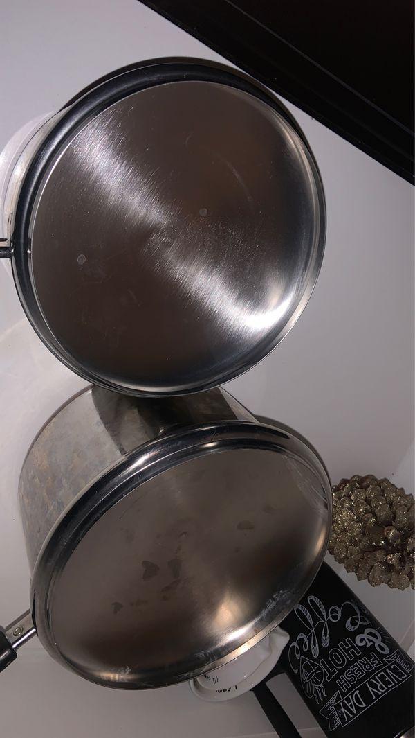 4 piece Pot Set