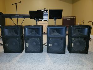 Band Equipment Complete Set Up for Sale in Eighty Four, PA