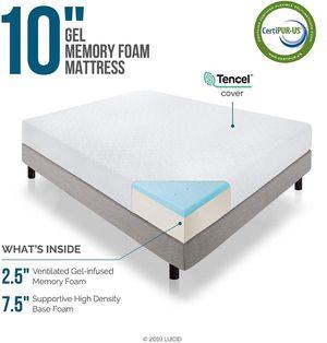 "SALE!!! New Full $145/Queen $175/King $210 10"" Gel memory foam mattress for Sale in Columbus, OH"