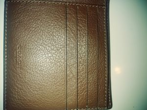 Mens Coach Wallet for Sale in St. Louis, MO