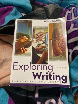 Exploring writing third edition for Sale in Anaheim, CA