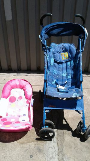 Fisher Price Stroller and Summer Infant Baby Bather for Sale in Phoenix, AZ