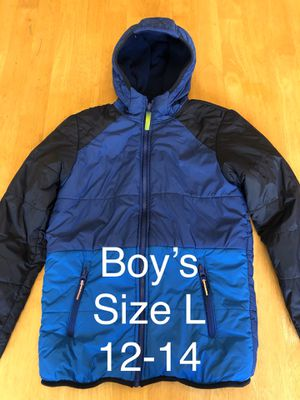 Boys Jacket size L(12/14) for Sale in Poway, CA