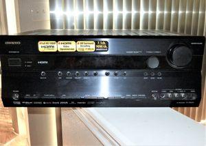 Onkyo 7.1 HDMI Receiver, Dual Zone, Remote for Sale in Aurora, CO