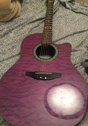 Ovation Celebrity Standard Plus purple guitar for Sale in Morgantown, WV