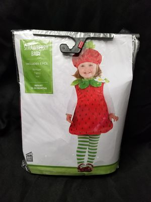 New Strawberry Baby Costume for Sale in Perris, CA