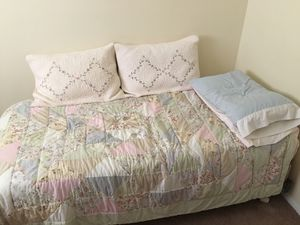 Twin bed plus boxsping and frame for Sale in Butler, IN