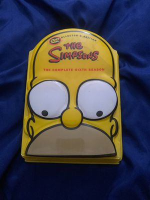 The Simpsons The Complete 6Th Season 4Disc DVD for Sale in New York, NY