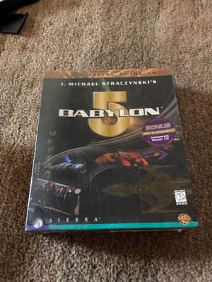 Babylon 5 pc game for Sale in Woodway, WA