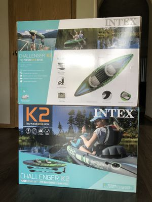 2 person inflatable kayaks for Sale in Vancouver, WA
