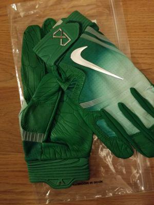 Brand New Nike Huarache Elite Game Royal/Light Aqua Baseball Batting gloves Adult Large for Sale in West Covina, CA