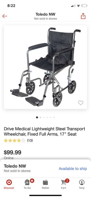 Brand new wheel chair for Sale in Rossford, OH
