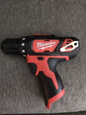 NEW Milwaukee M12 12-Volt Lithium-Ion Cordless 3/8 in. Drill/Driver (Tool-Only)NO BATTERY NO CHARGER for Sale in Los Angeles, CA