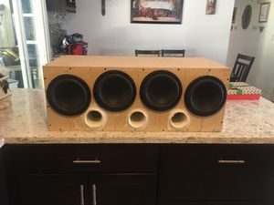 "Four 8"" subs in custom ported box southwest for Sale in Bakersfield, CA"