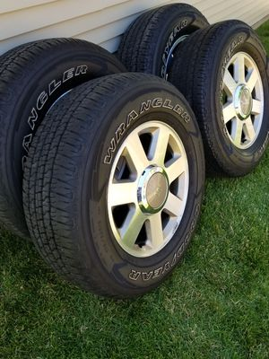 "18"" King Ranch Wheels & Goodyear Tires for Sale in IND HEAD PARK, IL"