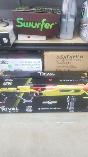 Nerf rival edge series gun for Sale in Loma Linda, CA