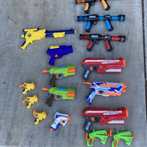 Entire Lot Of Nerf Guns for Sale in Scottsdale, AZ