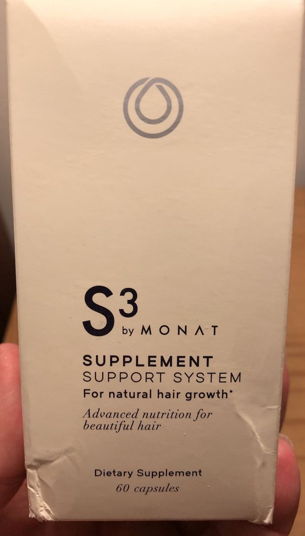 MONAT S3 for Natural Hair Growth