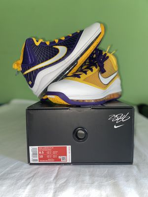 Nike Lebron VII QS Court Purple for Sale in Jersey City, NJ