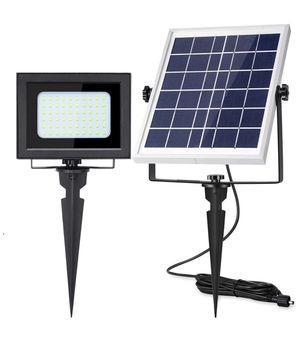 Solar Flood Lights Outdoor UPONUN 60LED IP67 Waterproof Solar Spot Lights Rechargeable Solar Security Lights Auto ON Off Solar Powered LED Flood Ligh for Sale in Lutherville-Timonium, MD