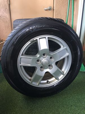 Jeep tires and wheels for Sale in Carlsbad, CA