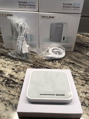Wireless WiFi router Tp-Link portable 3g/4g wireless n router for Sale in Etna, OH