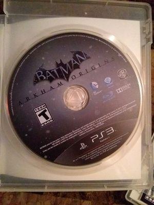 BATMAN ARKHAM ORIGINS (PLAYSTATION 3) for Sale in San Diego, CA