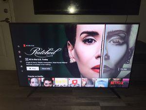 65 in Samsung 4K Smart tv ( UN65NU6950 ) w Base & Remote for Sale in Grand Prairie, TX