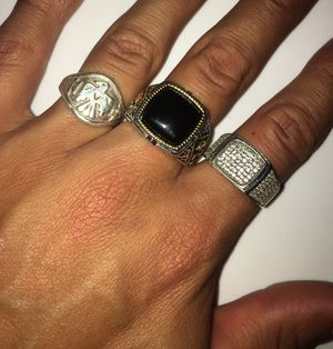 Authentic Sterling silver rings for Sale in Stockton, CA