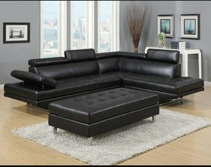 Ibiza Sectional and Ottoman for Sale in Orlando, FL