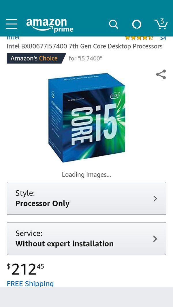 Cpu i5-7400 LGA1151