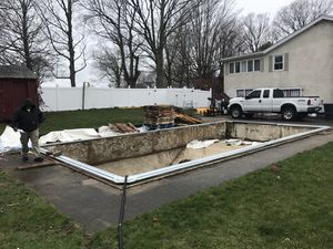 Back Fill Pool Installations for Sale in Malden, MA