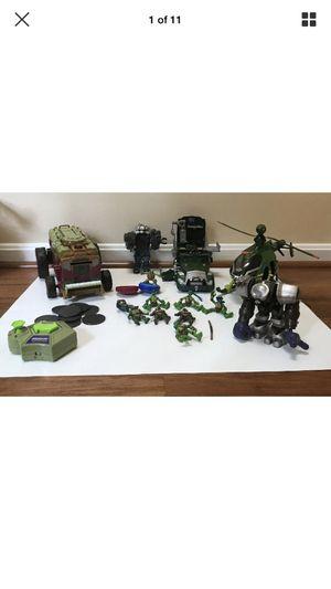 TMNT Teenage Mutant Ninja Turtles Playmates Lot Action Figures & Others for Sale in Fairfax, VA
