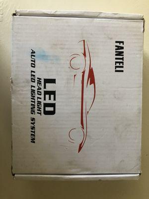 H7 LED HEADLIGHT SET for Sale in Redlands, CA