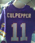 Vintage champion Vikings culpepper football jersey excellent condition size 40 for Sale in Philadelphia, PA