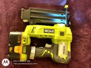 Ryobi nail gun for Sale in Ontario, CA