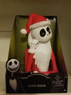 Disney The Nightmare Before Christmas Jack Coin Bank NEW for Sale in Mesa, AZ