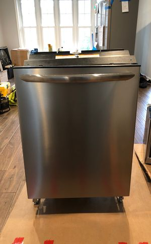 Brand New Frigidaire Dishwasher Stainless Steel (Have Proof of Purchase for Warranty) for Sale in Falls Church, VA